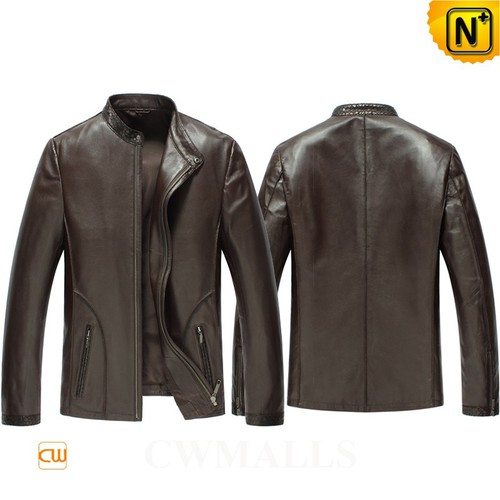 Custom Made Men Leather Jacket CW850401 | CWMALLS.COM
