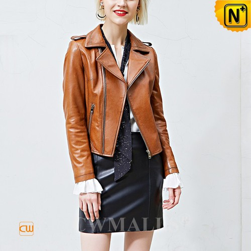 Made to Order Women Leather Jacket Patented CW619113 | CWMALLS.COM