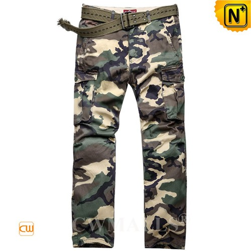 Outdoor Pants | Mens Camouflage Cargo Pants Trousers CW109008 | CWMALLS.COM