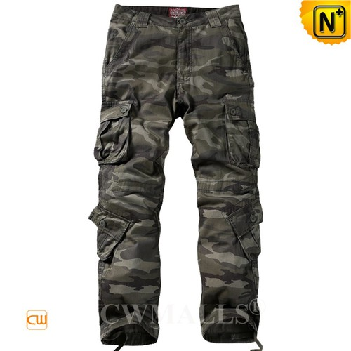 Outdoor Sport Pants | Men Camo Cargo Work Pants CW109004 | CWMALLS.COM