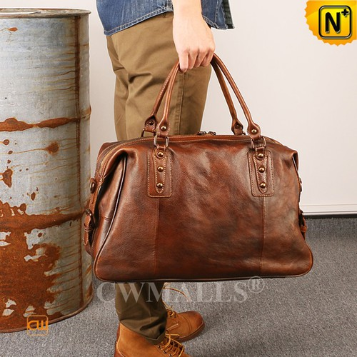 Leather Bags | Retro Leather Luggage Bag CW909105 | CWMALLS.COM