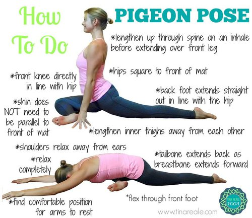 (KAPOTASANA) Pigeon Yoga Pose Benefits