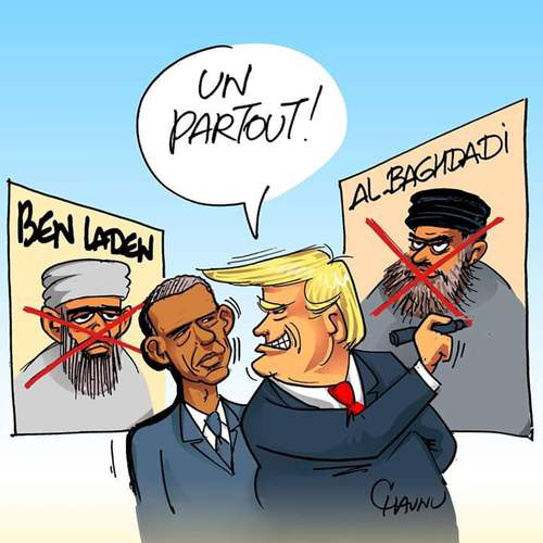 Trump Vs Obama : Un but partout !