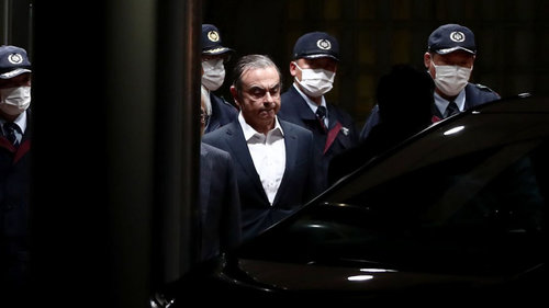 Carlos Ghosn Sneaked Out of Japan in Box Used for Audio Gear