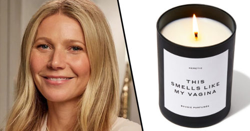 Why is Gwyneth Paltrow selling a candle that smells like her vagina?