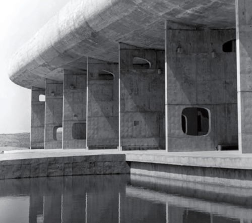 Le Corbusier, Assembly Building, Chandigarh, India, 1962.