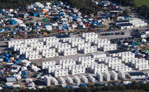 "Les camps de la ""jungle"" de Calais"
