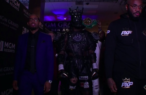 Tyson Fury vs Deontay Wilder : What an epic ring walk for Tyson Fury 😂😂😂