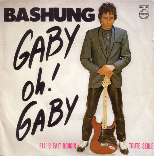 On aime ⛱🍹🎶 Bashung – Gaby Oh! Gaby