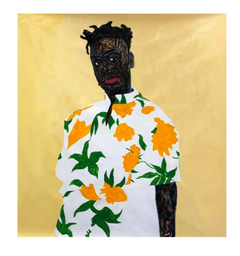 AMOAKO BOAFO SUNFLOWER SHIRT, 2019