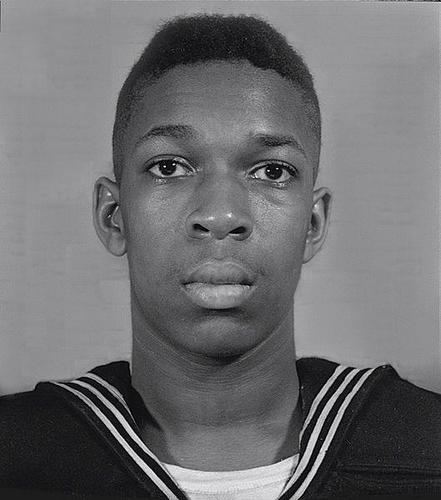 US Naval Portrait of John Coltrane