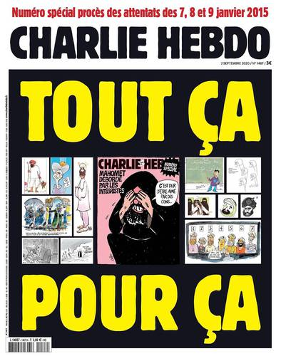 Caricatures - Charlie Hebdo