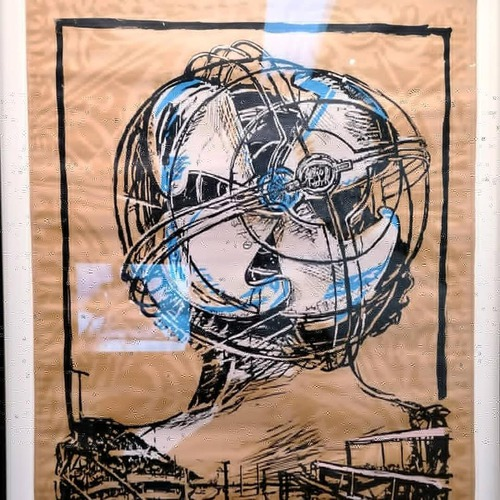 Rétrospective William Kentridge au Musée d'art moderne, d'art con...