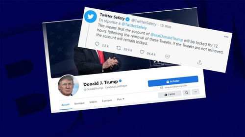 Après Twitter, Facebook bloque à son tour Donald Trump
